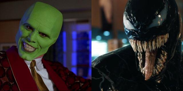 E se o Máskara de Jim Carrey fosse o Venom? Paródia de trailer mostra como seria