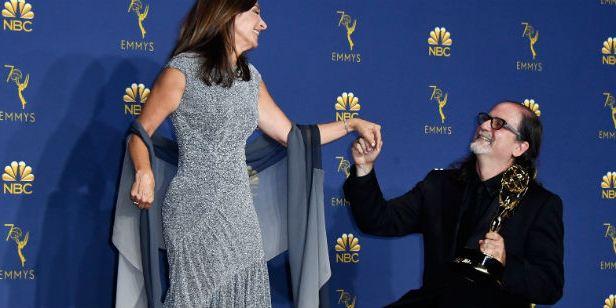 Emmy 2018: Rolou pedido de casamento no meio da premiação!