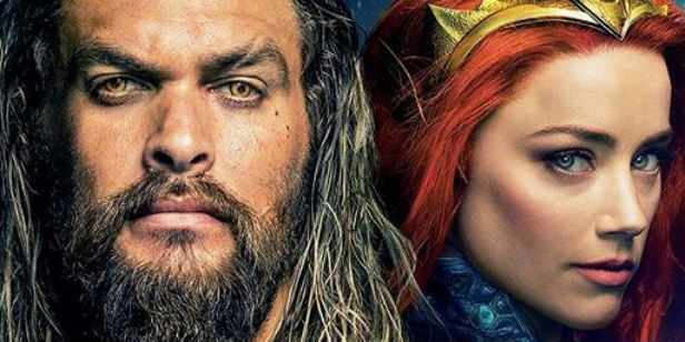 Aquaman: Jason Momoa, Amber Heard e o diretor James Wan em novas fotos de bastidores