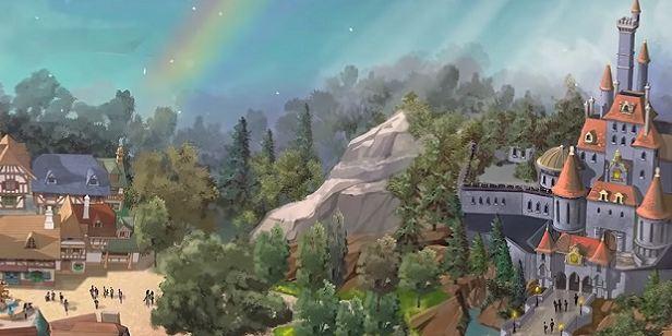 A Bela e a Fera: Parque de diversões da Disney terá área dedicada à animação