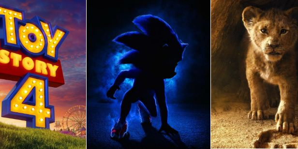 Calendário de animações em 2019