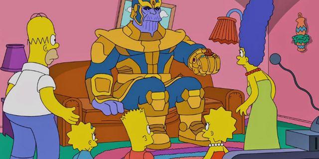 Os Simpsons se tornam vítimas de Thanos em recente episódio da série