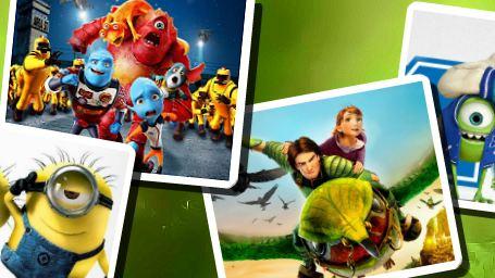 Os 17 filmes de animação até o fim de 2013