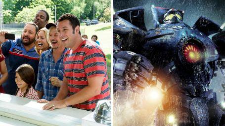 Bilheterias Estados Unidos: Adam Sandler e robôs gigantes não conseguem superar os Minions