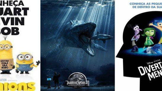 Estreias de junho nos cinemas O retorno da Pixar aos cinemas e uma nova visita ao parque dos dinossauros