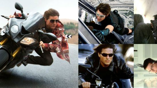 De 1996 a 2015: Relembre a trajetória de Tom Cruise ao longo da franquia Missão Impossível