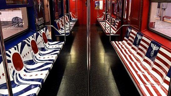 Peças promocionais de The Man In The High Castle no metrô de Nova York geram polêmica