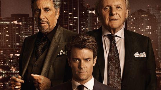 Ícones do cinema, Al Pacino e Anthony Hopkins atuam juntos pela primeira vez no trailer de Misconduct