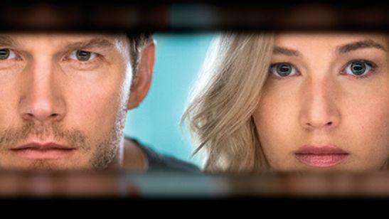 Veja as primeiras imagens de Jennifer Lawrence e Chris Pratt em Passengers