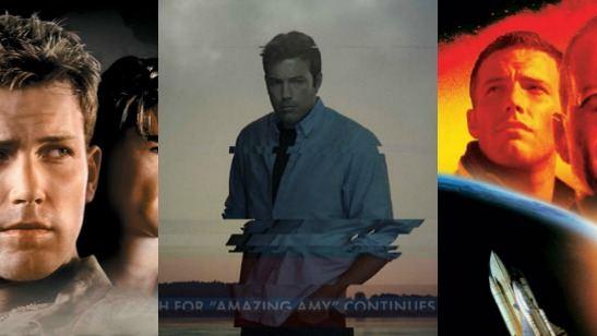 20 cartazes em que Ben Affleck tem exatamente a mesma expressão