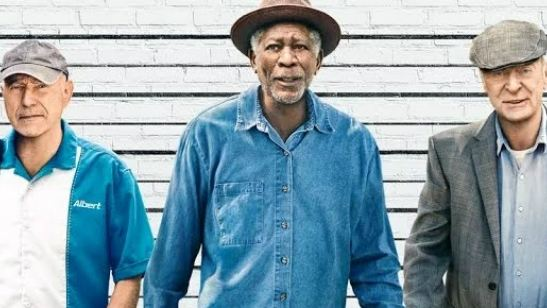Morgan Freeman, Michael Caine e Alan Arkin decidem assaltar um banco no trailer de Despedida em Grande Estilo