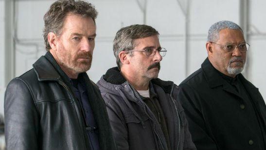 Last Flag Flying: Bryan Cranston, Steve Carell e Laurence Fishburne se reúnem no trailer do novo filme de Richard Linklater