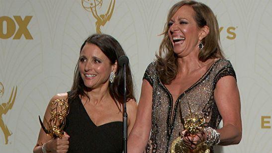 """Emmy 2017: Allison Janney """"ameaça"""" terminar com o reinado de Julia Louis-Dreyfus na premiação"""