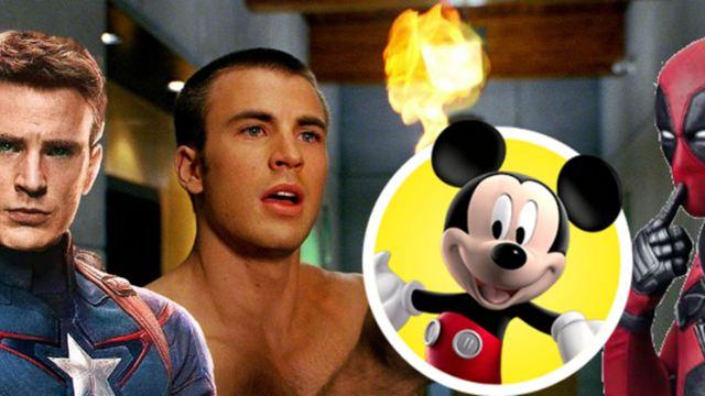 Chris Evans e Ryan Reynolds fazem piada sobre compra da Fox pela Disney
