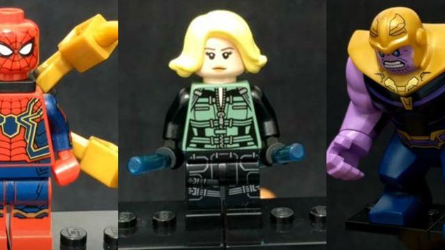 Vingadores - Guerra Infinita: LEGO pode ter revelado spoilers sobre Aranha de Ferro e Hulkbuster