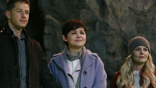 Once Upon A Time: Jennifer Morrison, Ginnifer Goodwin, Josh Dallas e Emilie de Ravin voltam pro episódio final