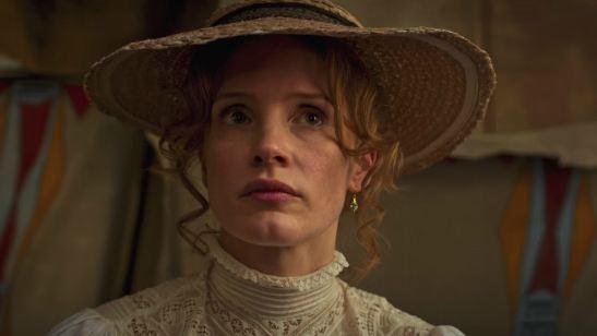 Jessica Chastain viaja ao Velho Oeste e luta pelos índios no trailer de Woman Walks Ahead