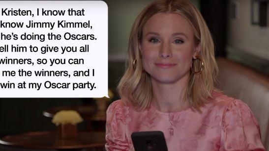 Astros de Hollywood leem mensagens de textos das suas mães