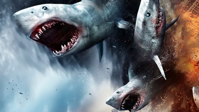 Sharknado 6: Dinossauros, tornados e tubarões no novo teaser do filme