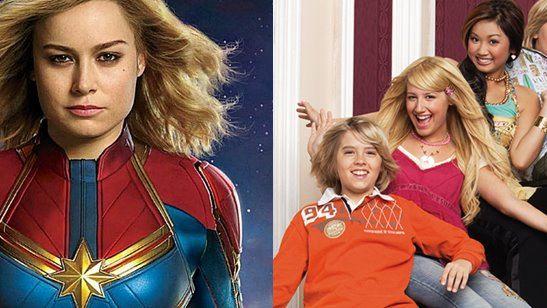 Capitã Marvel: Nova foto tem easter egg de Zack & Cody: Gêmeos em Ação