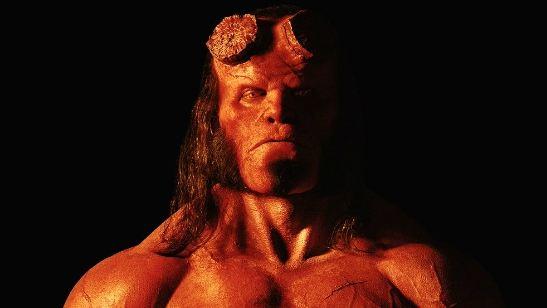 Hellboy: David Harbour aparece em nova imagem na pele do demônio vermelho