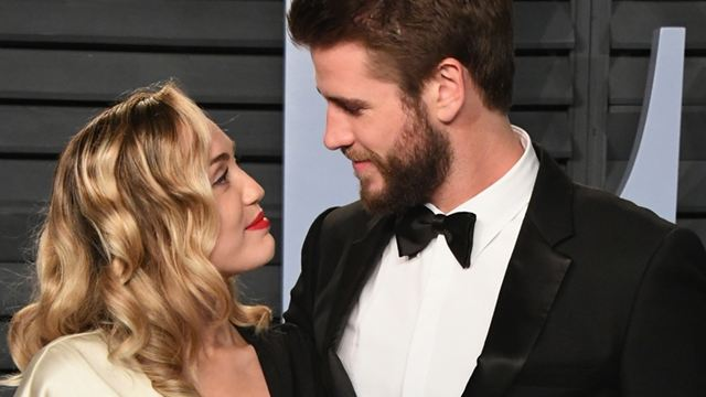 Miley Cyrus e Liam Hemsworth casaram!
