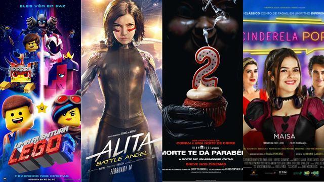 Estreias de fevereiro nos cinemas