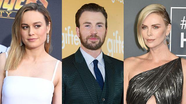 Oscar 2019: Brie Larson, Chris Evans e Charlize Theron são anunciados na primeira lista de apresentadores