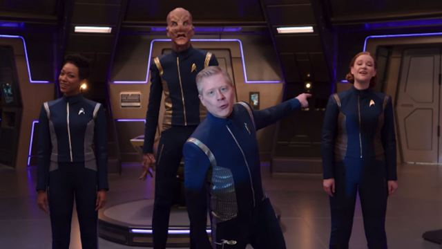 Elenco de Star Trek: Discovery solta a voz em paródia do musical Rent