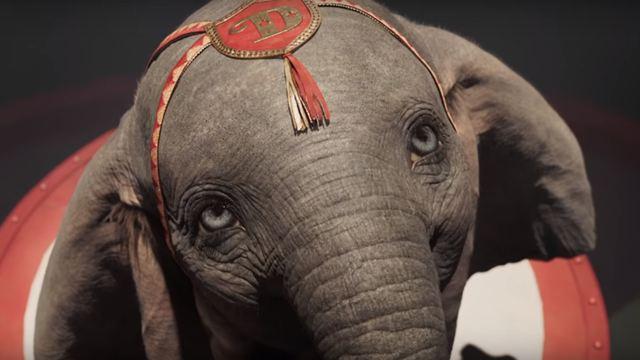 Dumbo: Elefantinho voa alto em comercial de TV do live-action