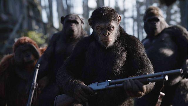 Dicas do Dia: Planeta dos Macacos - A Guerra e O Processo são os destaques de hoje