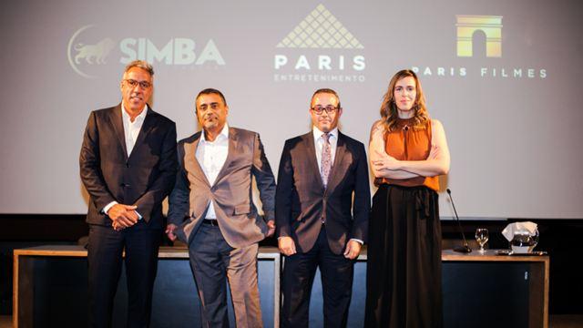 Em parceria com Paris Filmes e Paris Entretenimento, Simba Content investe no cinema
