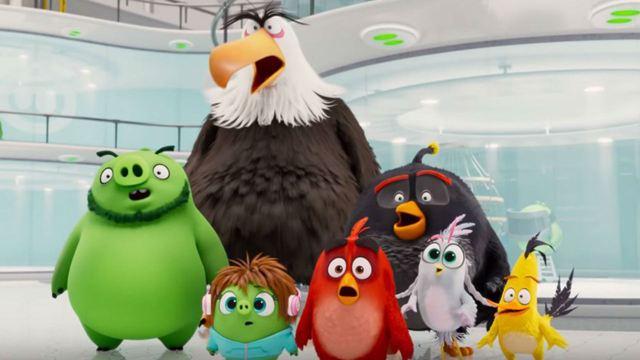 Angry Birds 2: Pássaros e porcos se unem (e brigam) para salvar o mundo em novo trailer