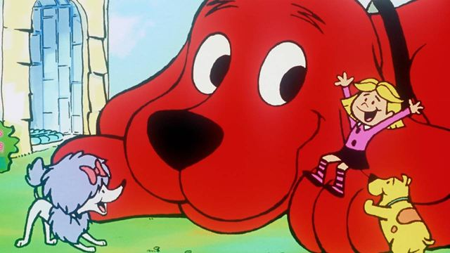 Clifford, o Gigante Cão Vermelho surge antes do tratamento em CGI em fotos de bastidores do live-action