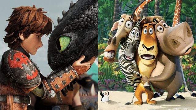 Sucessos das franquias Como Treinar Seu Dragão e Madagascar voltam aos cinemas para promover novo filme da DreamWorks
