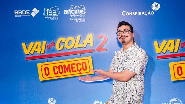 Vai Que Cola 2 - O Começo: Elenco marca presença em pré-estreia e diverte os fãs