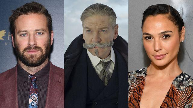 Morte no Nilo: Gal Gadot e Armie Hammer estão entre os nomes confirmados no anúncio do elenco completo do filme