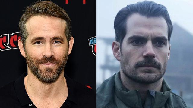 Ryan Reynolds tira sarro do bigode de Henry Cavill em vídeo
