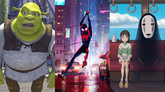 Melhores animações que não são da Disney