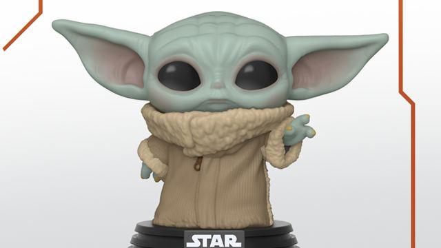 Atenção, o funko do Baby Yoda já está pronto!
