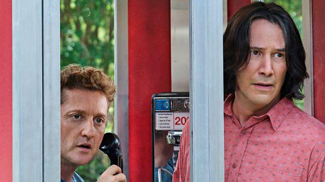 Bill & Ted 3: Reveladas novas imagens do filme com Keanu Reeves e Alex Winter