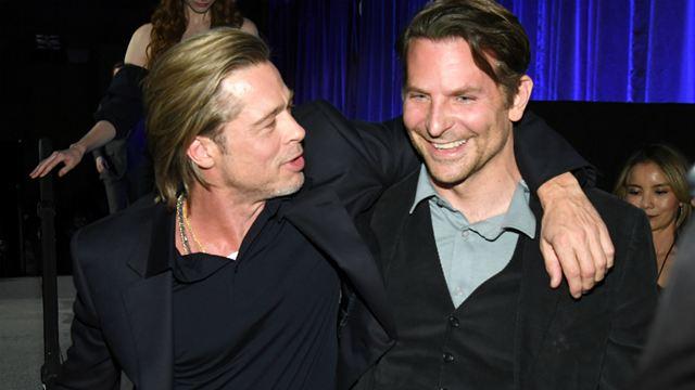 Brad Pitt revela que Bradley Cooper o ajudou a ficar sóbrio