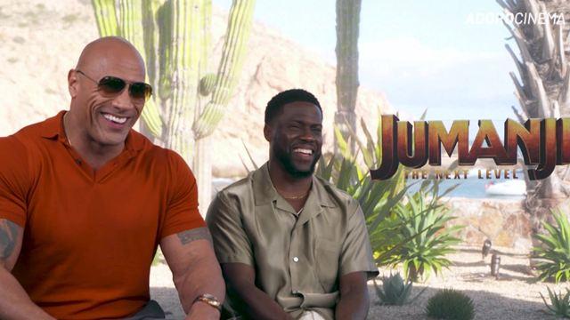 """Jumanji: """"Sou um mestre da comédia"""", brinca Dwayne Johnson depois de improvisar à la Danny DeVito (Entrevista Exclusiva)"""