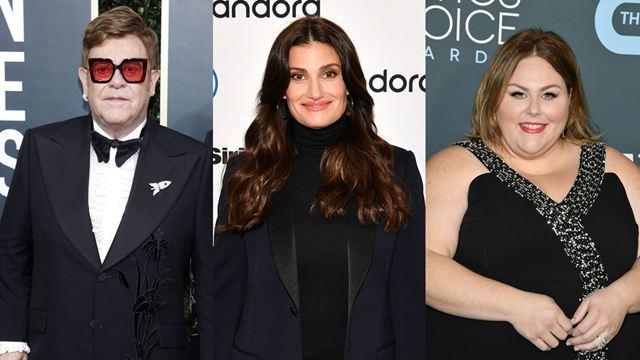 Oscar 2020: Elton John, Idina Menzel e Chrissy Metz vão cantar na cerimônia