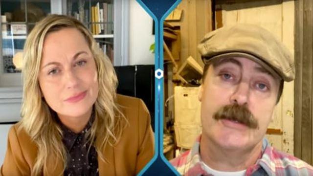 Parks and Recreation: Vídeo mostra Leslie e Ron conversando em novo episódio