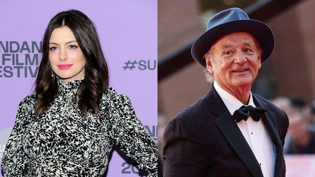 Anne Hathaway e Bill Murray vão estrelar drama focado em cachorro