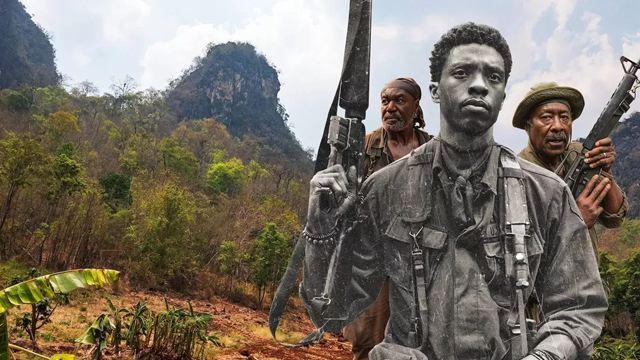 Destacamento Blood: Netflix analisa história do filme e revela imagens inéditas em vídeo dos bastidores