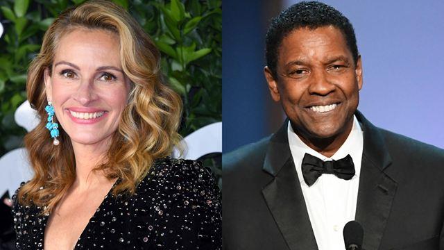 Netflix compra filme de Julia Roberts e Denzel Washington