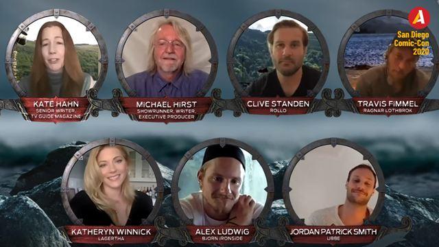 Vikings: Protagonistas relembram grandes momentos da série em painel na San Diego Comic-Con 2020