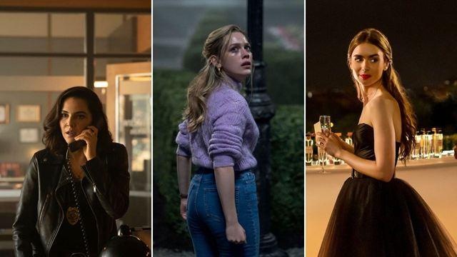Lançamentos da Netflix em séries para outubro